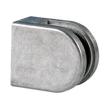 Маленькое крепление для стекла толщины 6 и 8 мм, плоское