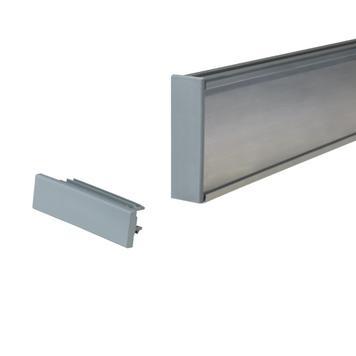 Заглушка для алюминиевого 75 мм профиля