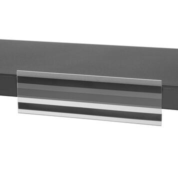 С-образный ценникодержатель на магнитной ленте