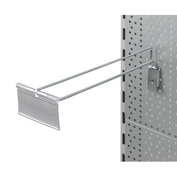 Одинарный крючок для перфорированной стенки