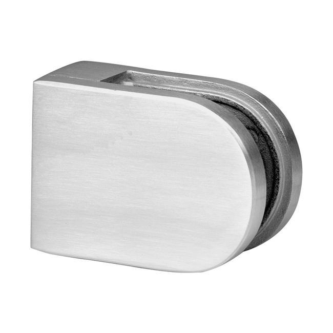 Большое крпеление для стекла толщиной 6, 8 и 10 мм, плоское