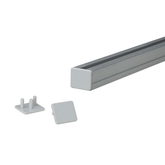 Заглушка для профиля 19 мм