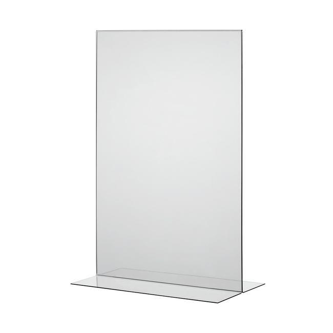 """Подставка под меню """"T-Form"""", прозрачная, 1 мм"""