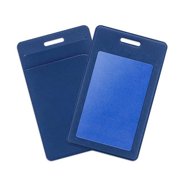 Карман для пластиковых карт из эко-кожи
