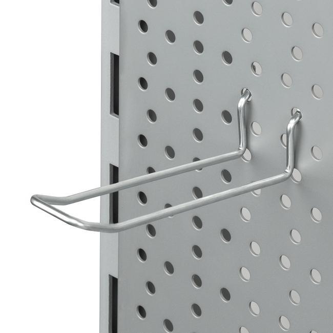 Двойной крючок для перфорированной стенки