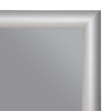 Сложно поддающаяся возгоранию рамка, защёлкивающаяся, профиль 25 мм