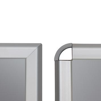 Алюминиевая защёлкивающаяся рамка 32 мм