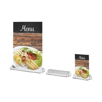 Подставка для меню для стандартных форматов