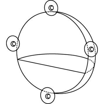 Витринный дисплей-полусфера