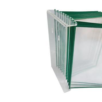 Настенная перекидная система для  рамок формата А4