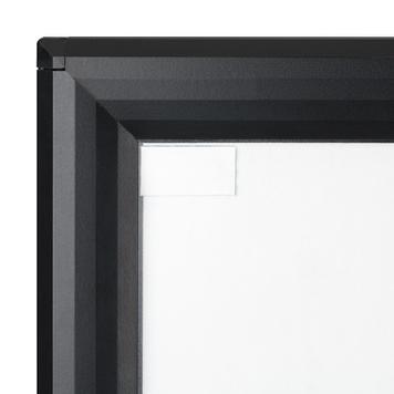 """Водонепроницаемый штендер WindSing """"Seal"""", 44мм-профиль, серебристый/серый"""